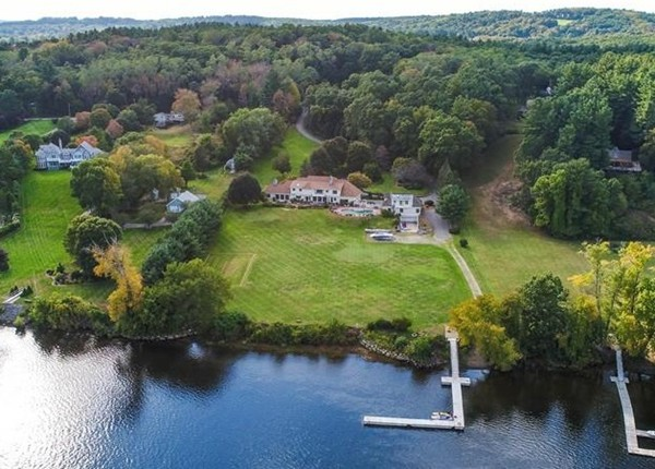 459 East Broadway, East Haverhill.  Waterfront estate with deepwater dock.
